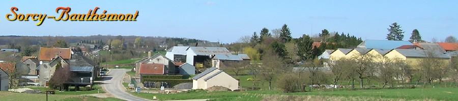 La météo à Sorcy-Bauthémont